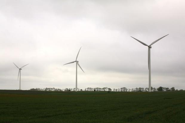Polskie wiatraki pracują na ćwierć mocy
