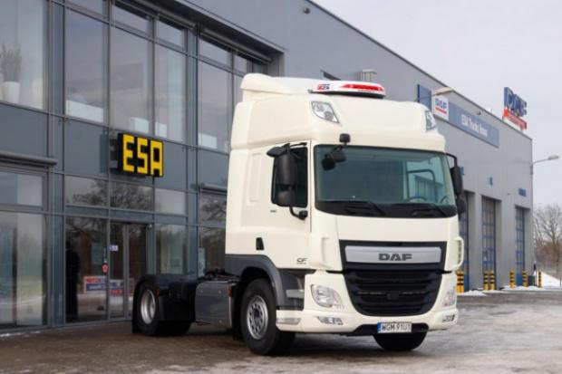 Pierwszy DAF CF Euro 6 odebrany przez polska firmę
