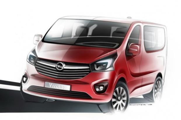 Opel Vivaro: pierwsze spojrzenie