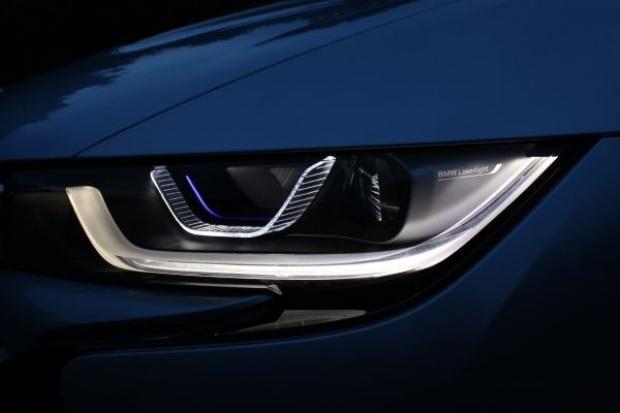 Laserowe światła BMW