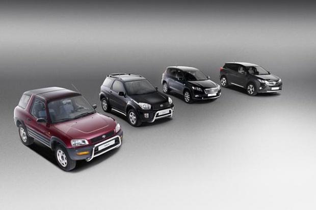 20-lecie Toyoty RAV4