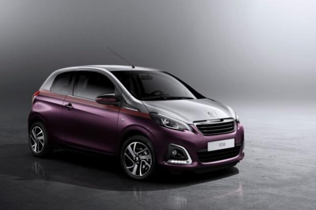 Peugeot prezentuje nowy samochód miejski.