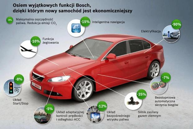 Ekonomiczniejsze auta czyli 8 x Bosch