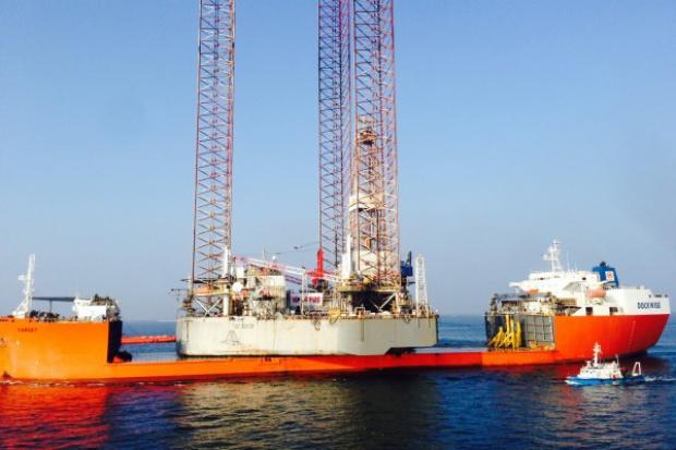Nowa platforma Lotosu już na Bałtyku