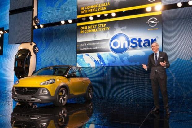 Opel z systemem komunikacji OnStar