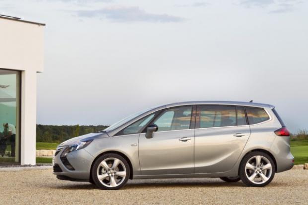 Opel dozbroił Zafirę Tourer