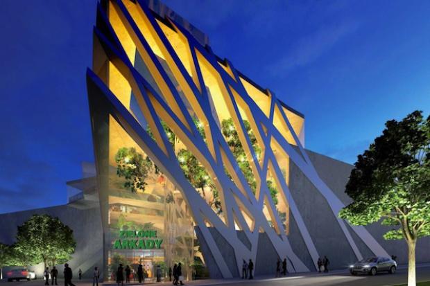 Strabag wybuduje centrum handlowe warte 150 mln euro