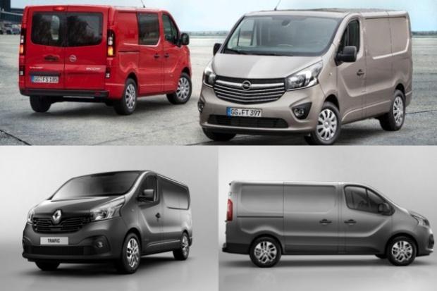 Opel odnowił Vivaro a Renault - model Trafic