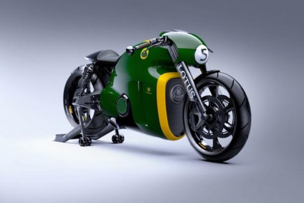 Pierwszy motocykl Lotusa