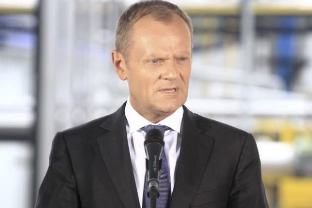 Tusk: trudno byłoby dziś Polskę zaszantażować przerwaniem dostaw gazu