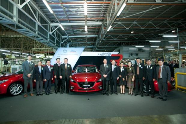 Ruszyła produkcja nowej Mazdy3 w Tajlandii