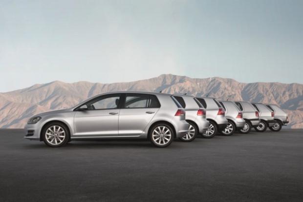 VW Golf - czterdziestolatek