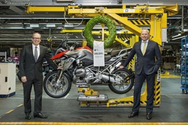 Pół miliona boxerów BMW Motorrad