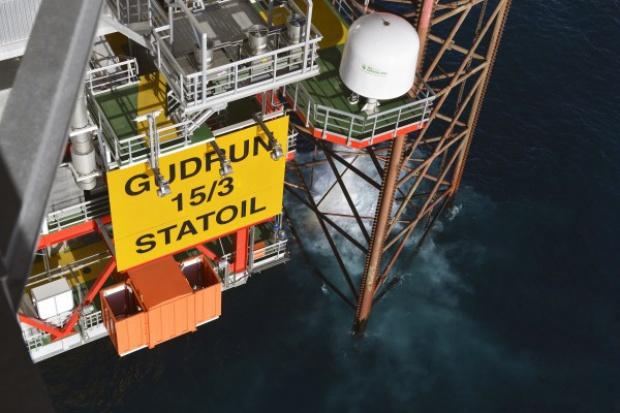 Rusza produkcja z pola Gudrun na Morzu Północnym