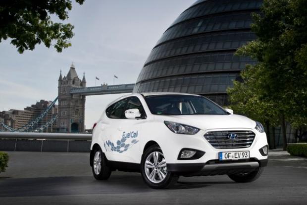 Przybywa aut Hyundaia na ogniwa paliwowe