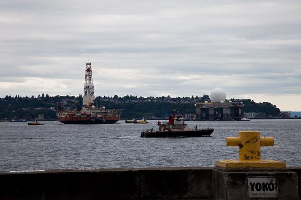 Shellowi grożą kary za wypadek platformy na Alasce