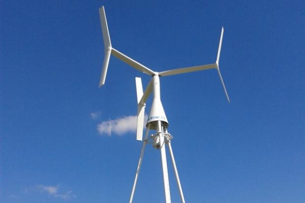 Innowacyjna elektrownia wiatrowa z pionową osią obrotu  o mocy 1,5 MW