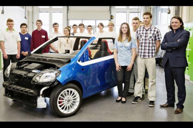 Uczniowie wymyślili cabrio Skody