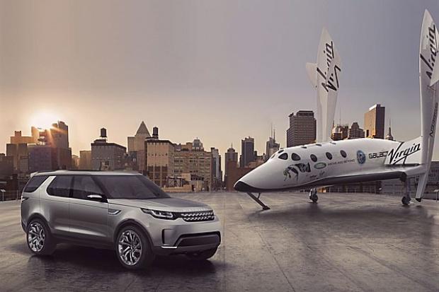 """Land Rover rozpoczyna """"kosmiczną"""" współpracę z Virgin Galactic"""