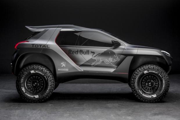 Peugeot DKR jedzie na Dakar