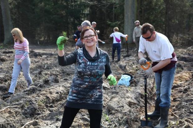Pracownicy GAZ-SYSTEM S.A. zasadzili 7000 drzew