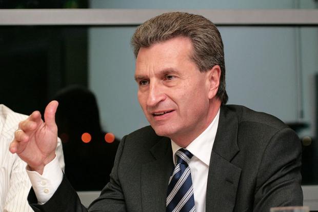 Tusk z Oettingerem o unii energetycznej 2 maja w Warszawie