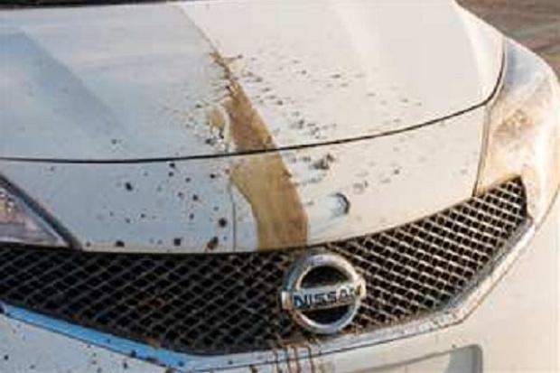 """Nissan opracował prototyp """"samoczyszczącego się"""" samochodu"""