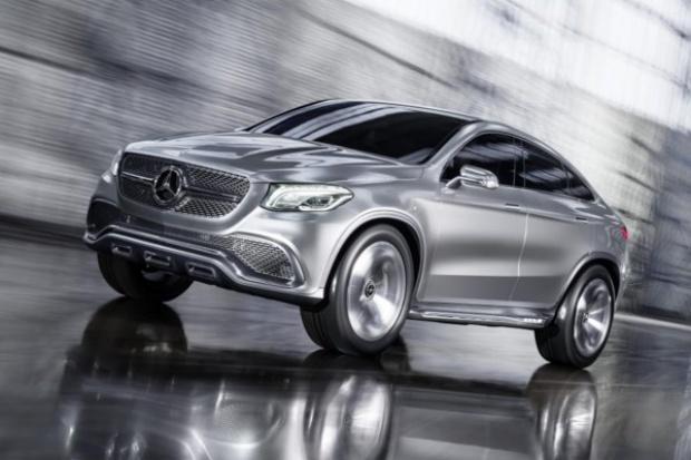 SUV Coupe wg Mercedesa