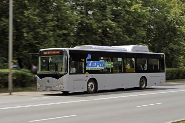 Elektryczne autobusy BYD będą jeździć w Warszawie