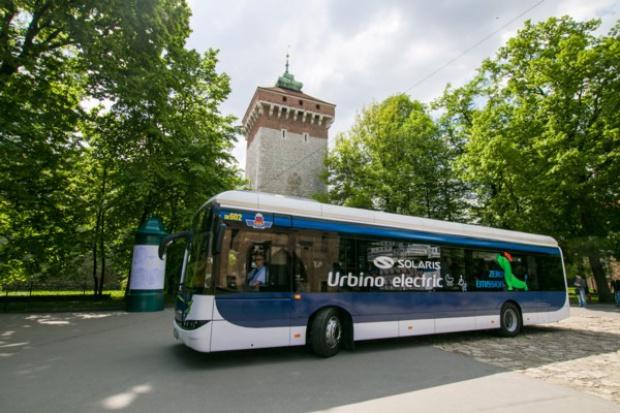 Elektryczny Solaris testowany w Krakowie