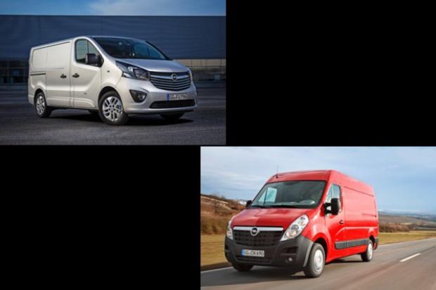 Opel odświeża Vivaro i Movano