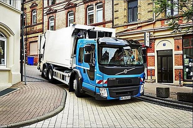 Niskie wejście Volvo