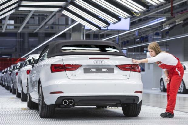 Trwa dobra passa Audi