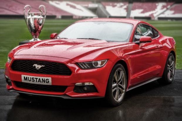 """""""Meczowy"""" system zapisów na nowego Mustanga w Europie"""