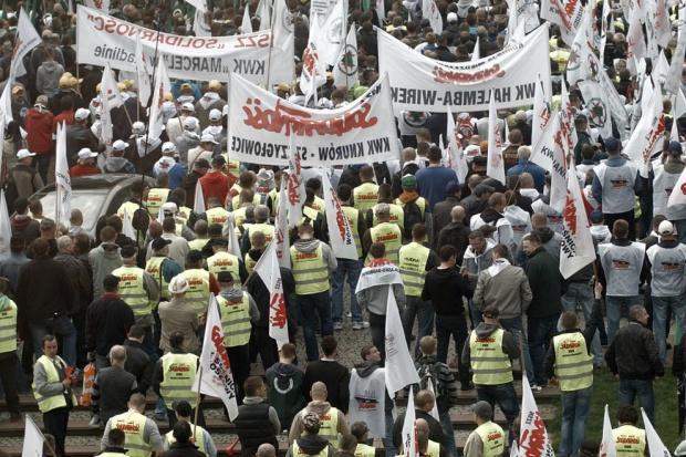 Górnicze związki przesuwają termin manifestacji w Warszawie