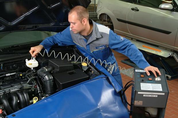 Ford Motorcraft Sevice - jak fabryka przykazała