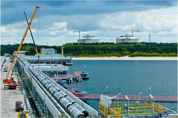 Terminal w Świnoujściu ukończony w 87 procentach
