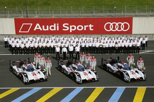 W Le Mans wystartują Audi z najoszczędniejszym napędem
