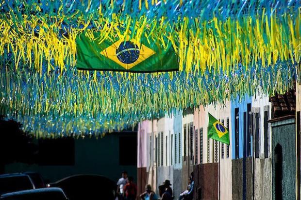 Piłkarskie mistrzostwa świata pogrążą gospodarkę Brazylii