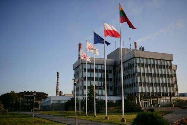 Protest pracowników rafinerii Orlen Lietuva