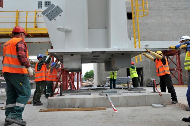 Ważny etap budowy bloku 1075 MW w Kozienicach osiągnięty