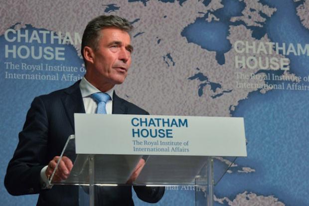 Rasmussen, NATO: Rosja sabotuje eksploatację gazu łupkowego