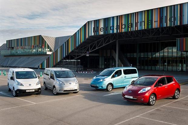 Nissan liderem w segmencie e-samochodów