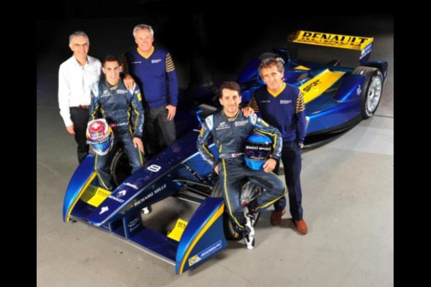 Formuła E: Renault zaangażowane w stajnię wyścigową