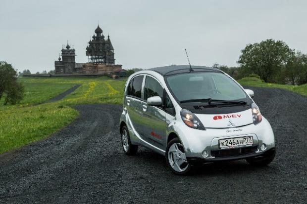 Skansenowa przygoda elektrycznych Mitsubishi