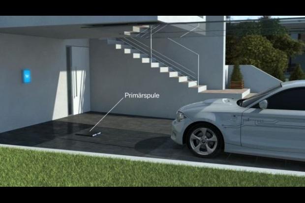 BMW przyspiesza prace nad indukcyjnym ładowaniem e-aut