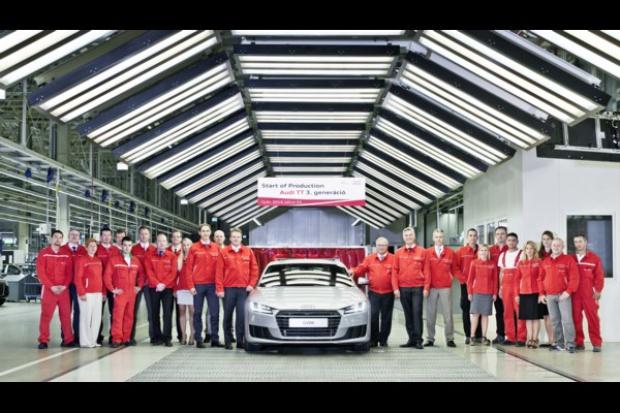 Audi Hungaria: produkcja nowego Audi TT Coupé