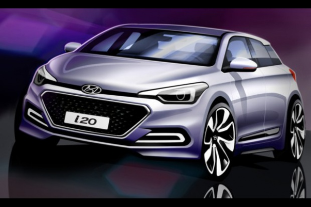Hyundai: pierwsze szkice modelu i20 Nowej Generacji.