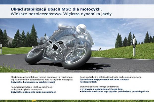 Przybywa motocykli z ABS i MSC