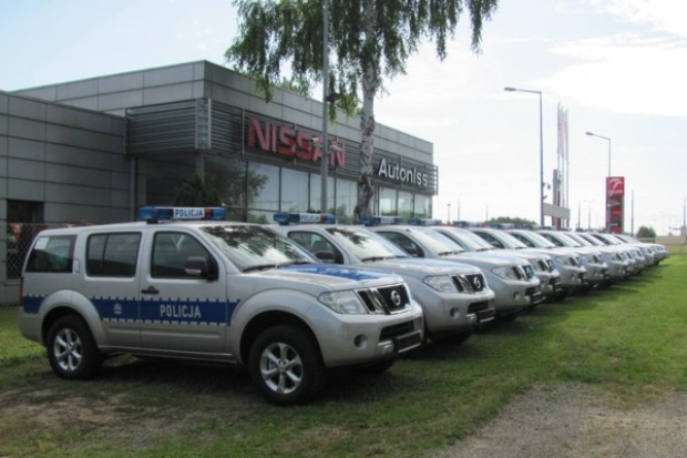 Nissan: flota modeli Pathfinder dla polskiej policji